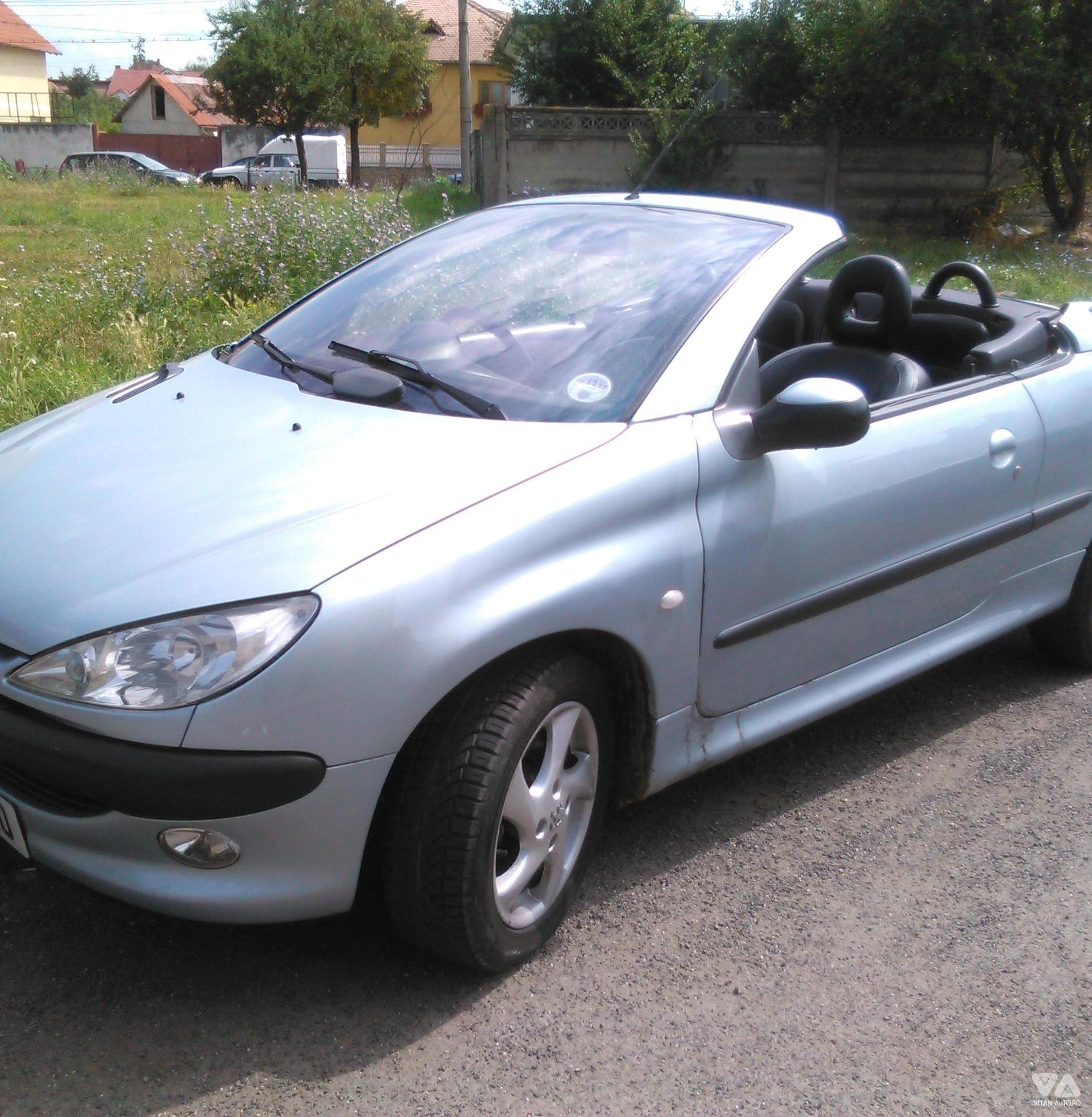 vanzare peugeot 206 cc din 2001 1400 eur in sibiu. Black Bedroom Furniture Sets. Home Design Ideas
